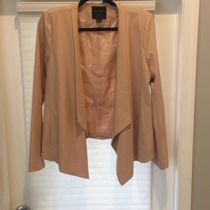 FUNKY BLAZER LOVE TREE NWT size large cream color